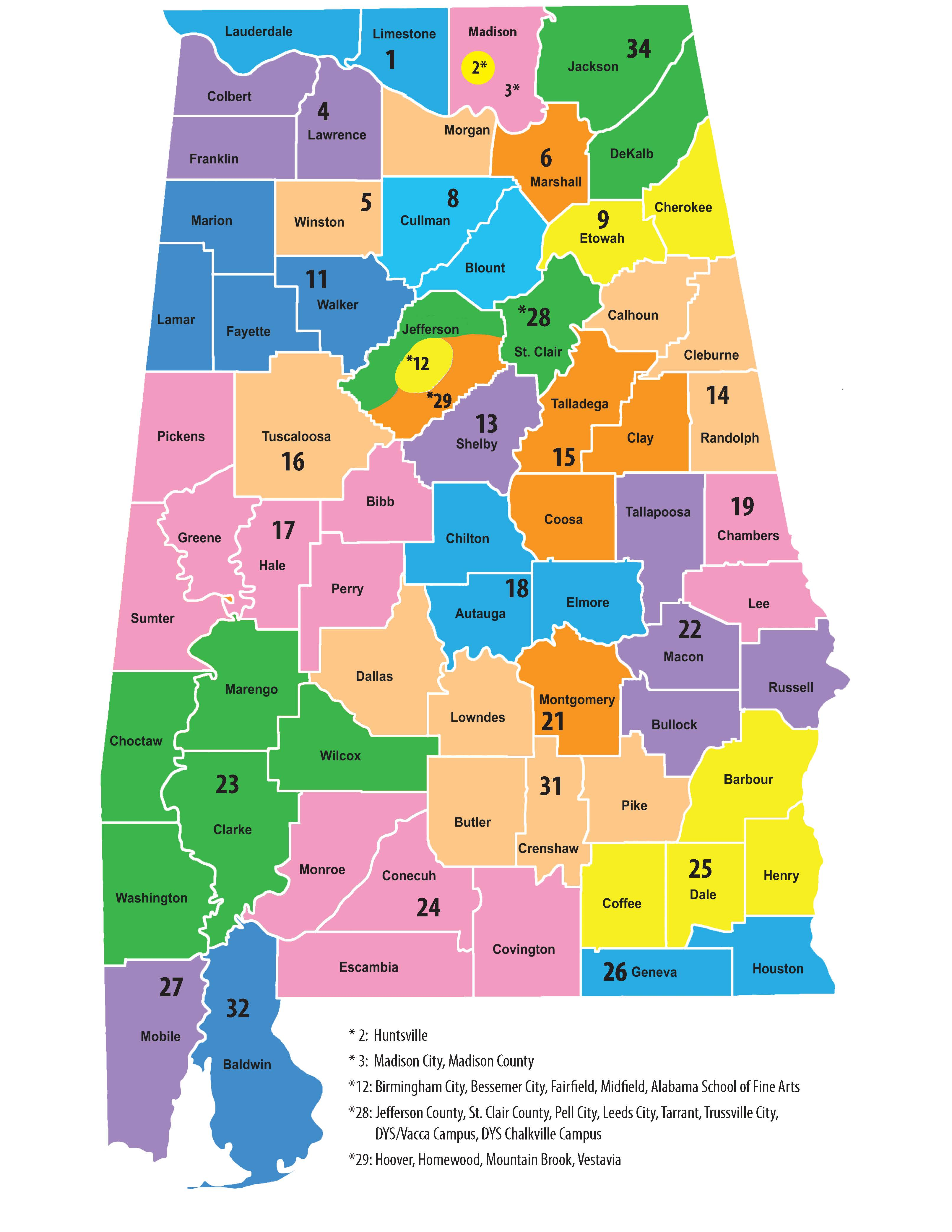 UniServ Directors on map of airports in alabama, map of rivers in alabama, map of city in alabama, map of municipalities in alabama, map of climate in alabama, map of cities and towns in alabama, map of hospitals in alabama,